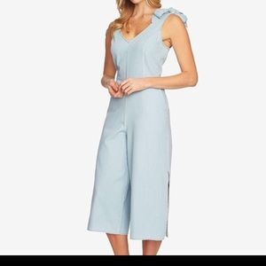 CeCe Denim jumpsuit NWT